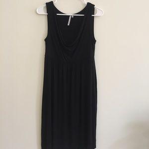 Michael Stars Black Cowl Neck Dress